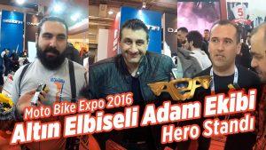 Moto-Bike-Expo-2016-Altın-Elbiseli-Adam-Ekibi-Hero-Standı
